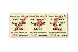 WoodstockTicket